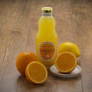 Лимонад «Апельсин» приятно освежит и наполнит мощным зарядом витаминов