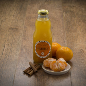 Лимонад «Мандарин с корицей» подарит ощущение праздника и хорошее настроение