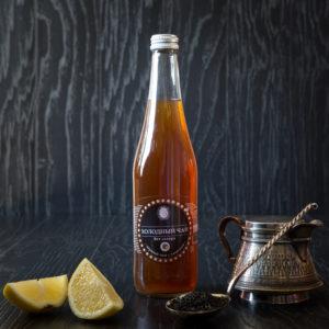 """Насыщенный вкус """"Черного чая с лимоном"""" тонизирует  организм"""